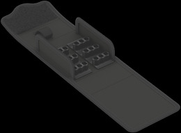 9439 Pudełko tekstylne Kraftform Kompakt Stubby 19, puste