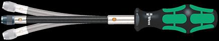 """Wera Bit-Handhalter mit flexiblem Schaft 1//4/"""" x 177 mm 392"""