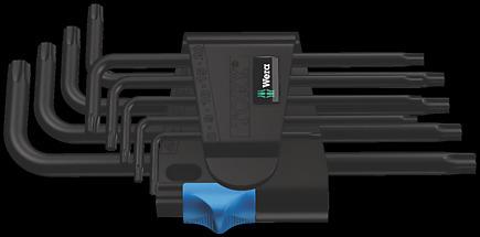 967/9 TX HF 1 L-key set with holding function, BlackLaser