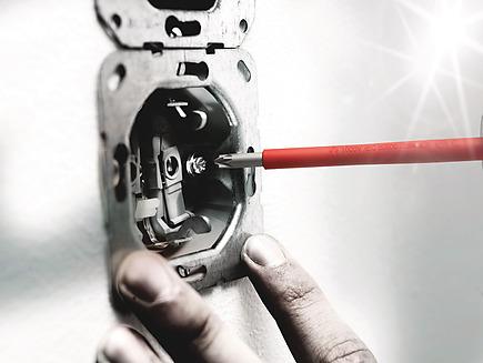 Phillips//ranurado PH//S # 1 x 80 mm 162 i PH//S Destornillador aislado seg/ún VDE para tornillos PlusMinus