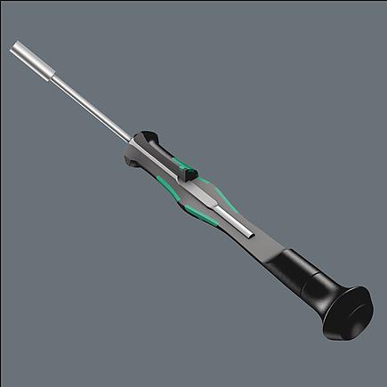 Wera 2069 Elektroniker-Steckschl/Ã/¼ssel 1//8 Zoll x 60 mm 05118132001