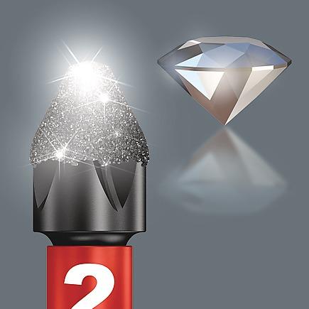 с мелкими алмазными частицами