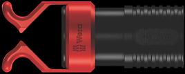 1441 SB Schraubkralle für Schraubendreherklingen, lange Bits und Winkelschlüssel mit Festhaltefunktion für Schrauben