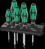 367/6 TORX® Screwdriver set Kraftform Plus and rack
