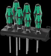 367/7 TORX® HF Juego de destornilladores Kraftform Plus con función de retención + Bandeja
