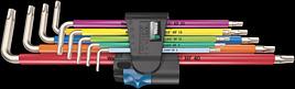 3967/9 TX SXL Multicolour HF Stainless 1 Winkelschlüsselsatz mit Haltefunktion, Edelstahl