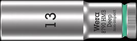 8790 HMB Deep Douille longue à emmanchement 3/8