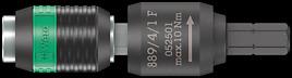 889/4/1 F Porta-inserti Rapidaptor con funzione a ruota libera per giravite dinamometrici con impugnatura a pistola