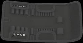 9415 Custodia pieghevole per kit Kraftform Kompakt Zyklop Speed 1/4