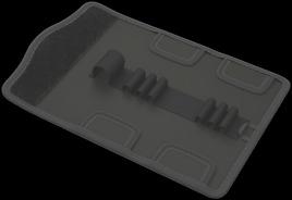 9423 Custodia pieghevole per kit Kraftform Kompakt VDE fino a 7 pezzi, vuota