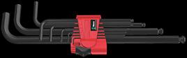 950/9 Hex-Plus 6 Winkelschlüsselsatz, metrisch, BlackLaser