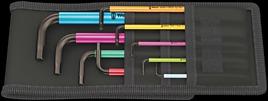 950 SPKL/9 SZ Multicolour Winkelschlüsselsatz, zöllig, BlackLaser