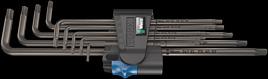 967/9 TX XL HF 1 Winkelschlüsselsatz mit Haltefunktion, lang