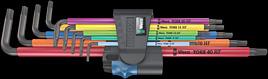 967/9 TX XL Multicolour HF 1 Winkelschlüsselsatz mit Haltefunktion, lang