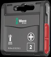 Wera 05135287001 J Bits for Phillips screws 851//21 PH 0x60mm