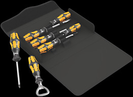 Kraftform 900/7 Set 2 Assortimento di giravite Kraftform Wera: il giravite-scalpello