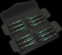 Jeu de tournevis électronicien Kraftform Micro-Set/12 SB 1